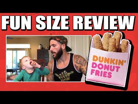 Fun Size Review: Dunkin' Donuts Donut Fries