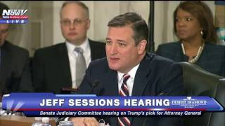TED CRUZ Goes Off On Democrats At Jeff Sessions Hearing