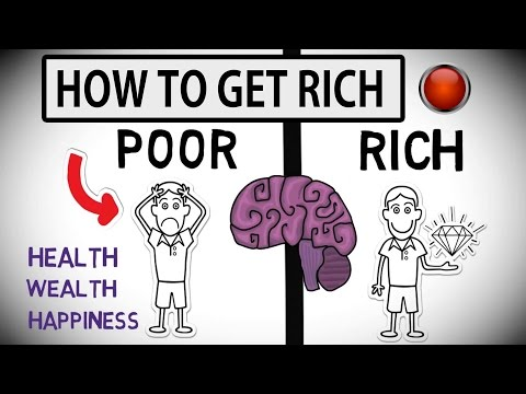How to Get Rich | Difference Between Rich and Poor Mind