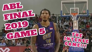 ABL Final 2019 Game 5 Highlight CLS Knights Indonesia Vs Singapore Slingers  May 15,2019