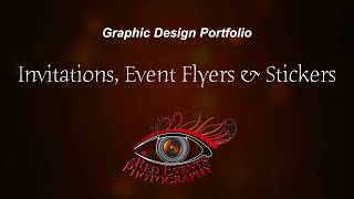 Invitations And Event Flyers