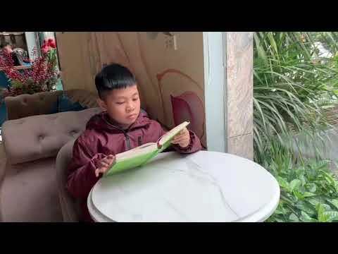 """MS 04: Dương Hải Nguyên 4A4 Tiểu học Kim Đồng, Ba Đình. Giới thiệu sách """"Không gia đình"""""""