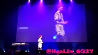 [Fancam] 16/03/13 Boyfriend 2013 Asia Fan Meeting [Janus]  JeongMin Solo - 잘 지내니 (My Dear)