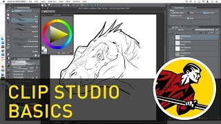 Clip Studio Paint Basics