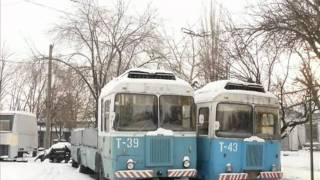 Грузовые троллейбусы, которые так и не прижились.