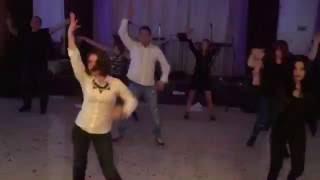 корпоратив 2016 танец с коллегами
