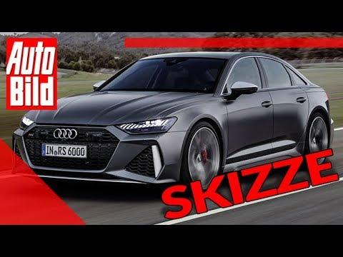 Audi RS 6 Limousine: Auto - Skizze - Design - Vorstellung - C8