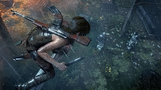 Rise of the Tomb Raider Brutal Stealth Kills & Takedowns Gameplay (Silent Night / Geothermal Valley)