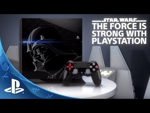 Видео № 0 из игры Геймпад Sony Dualshock 4 для PS4, Darth Vader Edition (CUH-ZCT1E) (Б/У)