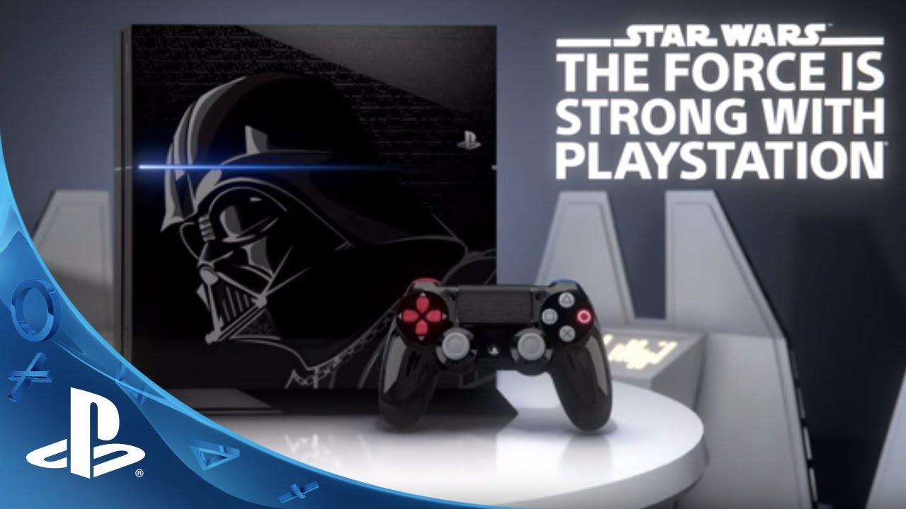 Presentamos la consola PS4 inspirada en Darth Vader: El Bundle de Star Wars estará disponible este noviembre