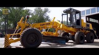 Производство тяжелого автогрейдера с улучшенными характеристиками
