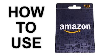 How To Use An Amazon Gift Card | Can't Find Claim Code