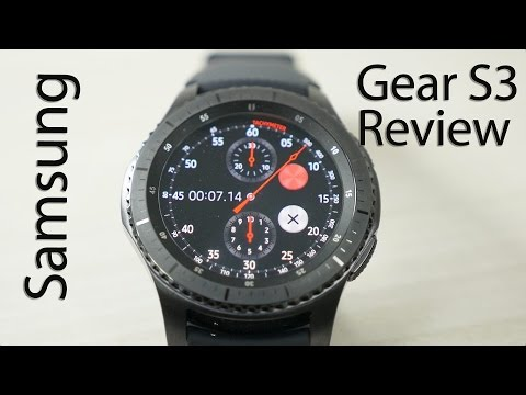 Download Samsung Gear S3 Frontier Smartwatch Review Mp4 HD Video and MP3