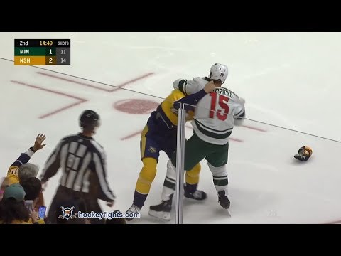 Zac Rinaldo vs. Matt Hendricks