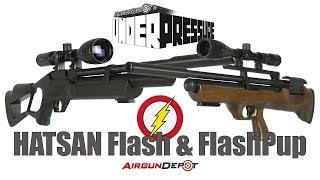 Пневматическая винтовка Hatsan Flash от компании CO2 - магазин оружия без разрешения - видео