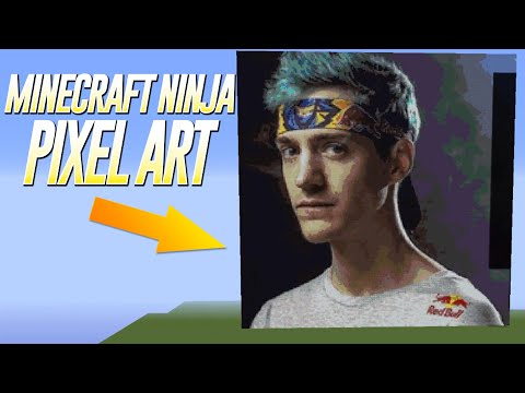 Pixel Art Of Tfue In Fortnite Creative Mode Youtube - Ballersinfo com
