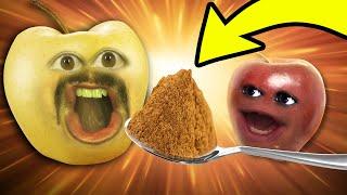 Annoying Orange - The Cinnamon Challenge!