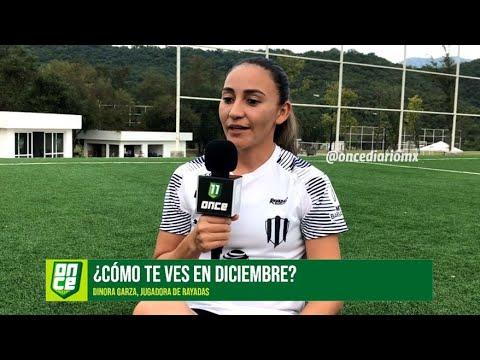 Rayadas   Dinora Garza quiere trascender con Rayadas   ONCE Diario