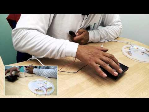 Funcionamiento de reguladores táctiles de intensidad y RGB (LED)