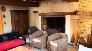 preview picture of video 'Trun Maison Propriété Jardin Garage abri de voiture - Terr'
