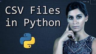 CSVFilesinPython||PythonTutorial||LearnPythonProgramming