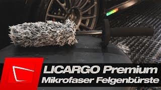 Diese Felgenbürste nutze ich aktuell! LICARGO Mikrofaser Felgenbürste im Test Autofelge reinigen