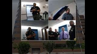 New body cams show confusion after IRS guard holds deputy at gunpoint