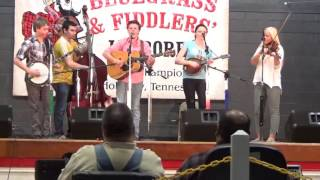 "Five Grass  ""Sittin On Top Of The World""  Holladay Old Time  Bluegrass and Fiddlers' Jamboree"