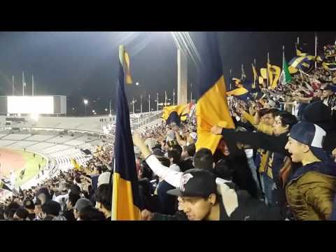 """""""La Rebel Dale Pumas Pumas vs Emelec Copa Libertadores 18/02/2016"""" Barra: La Rebel • Club: Pumas"""