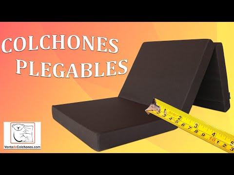 ▶ COLCHON PLEGABLE ◀| Colchones PLEGABLES CAMPER de Espuma y Viscoelastica | VentadeColchones