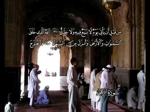 سورة ابراهيم - الشيخ / محمود البنا  - ترجمة هندية