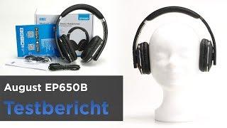 AUGUST EP650B (2019) im Test - Preiswerter Bluetooth-Kopfhörer mit App(Klanganpassung speichern)