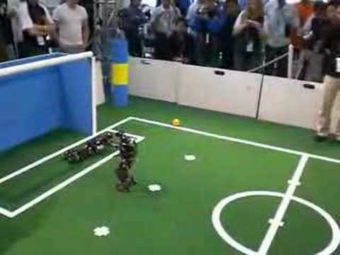 RoboCup 2007 Underway in Atlanta, Humanoid Bots Clash for World Title