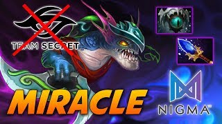Miracle Slark - Nigma vs Team Secret - Dota 2 Pro Gameplay