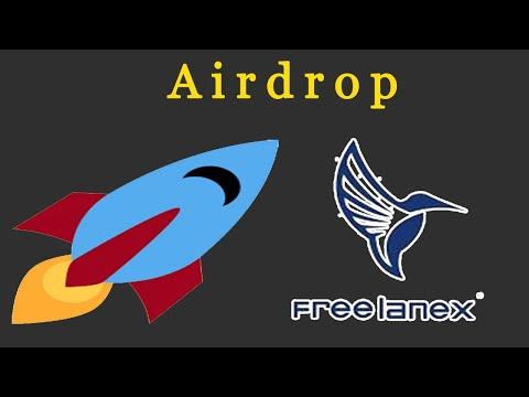 Ganhe U$29 Dólares no Airdrop Bot Freelanex ! Muito Fácil .