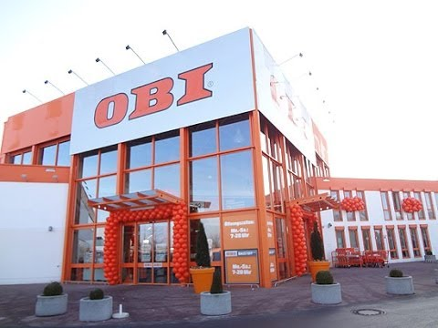 OBI Trudering Eröffnung am 3.2.2014 - Preview OBI Bau- und Heimwerkermarkt mit Gartencenter