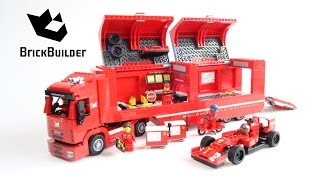 Lego Speed Champions 75913 F14 T & Scuderia Ferrari Truck - Lego Speed build