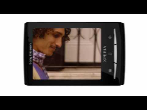 Youtube Video Sony Ericsson Xperia X10 Mini black + red