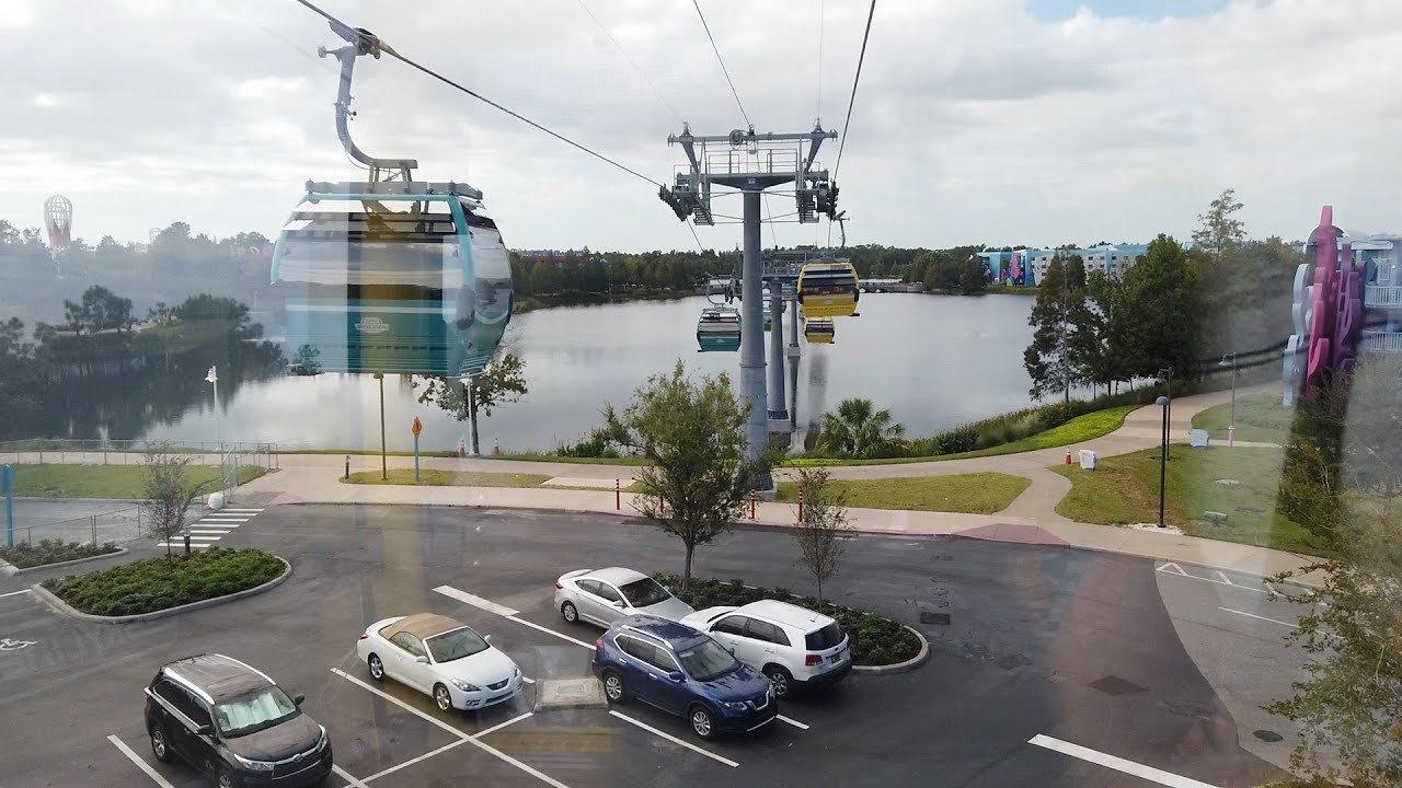Disney Skyliner Art of Animation Line POV