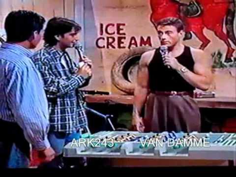 Jean Claude Van Damme _ ( MEGA RARE ) Promote Double Impact PART 2