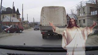 Когда тебя бережёт бог! Или очередное ДТП на многострадальном перекрёстке...