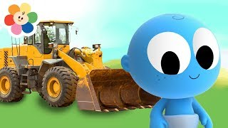 The Bulldozer - Learn Vehicles and Colors with GooGoo Baby | Educational Video for Kids by BabyFirst