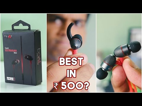 """boAt BassHeads 225 """"Super"""" Extra Bass Earphones Review! Super? Really?"""