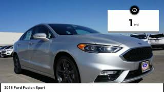 2018 Ford Fusion Henderson NV 61514