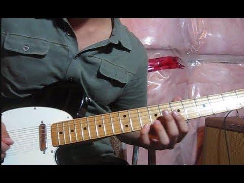 Oceans Lead Guitar Tutorial (Where feet may fail) - Hillsong United