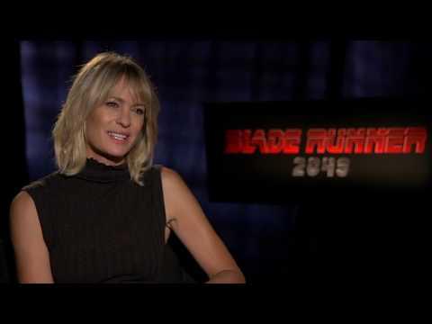Blade Runner 2049 Interview - Robin Wright