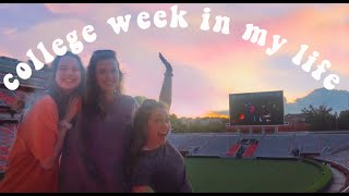 College Week In My Life: Movie On The Football Field, Parties & Tornadoes!