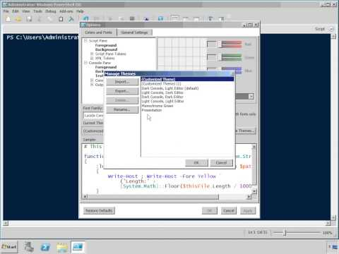 PowerShell: Introduction and Scripting Tutorial - YouTube