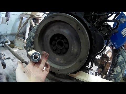 Заміна підшипників,заміна диска зчеплення мінітрактора Синтай - 244(ремонт)