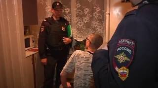 Дежурство вместе с экипажем патрульно-постовой службы полиции в районе Ясенево